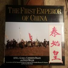 THE FIRST EMPEROR OF CHINA by R.W.L. Guisso et al  Hardcover 1st/1st 1989