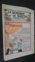 Revista Dibujada La Semana De Suzette que Aparecen El Jueves 1929 N º 37 ABE