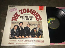 The Zombies 1st LP Original Parrot Records RARE Hype sticker + shrink EX Stereo