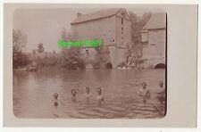 Foto Ak nackte Soldaten beim baden * naked gay akt * Frankreich 1 Wk WW ! (A1782