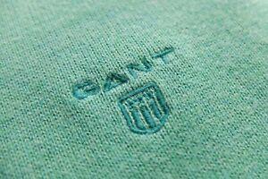 GANT pullover Sweater Cotton Crewneck Green XL