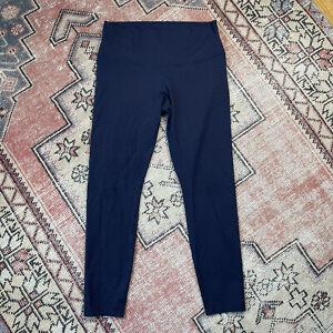 Lululemon Yoga Pants Blue Full Length Size 12