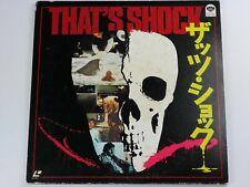 LD  Laserdisc :L226  THAT'S SHOCK/TERROR IN THE AISLES/TIME FOR TERROR 1984