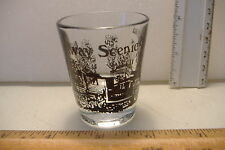 ~CONWAY SCENIC RAILROAD~NORTH CONWAY N.H.~SHOT GLASS~
