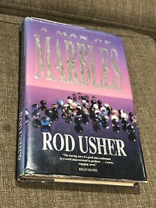 A Man Of Marbles Book By Rod Usher Hardcover Dust Jacket 1989