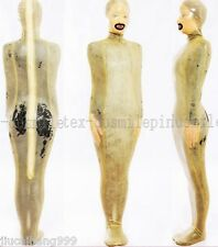100% Latex Rubber Gummi Bodybag Sleep Sack Sleeping Bag Leotard