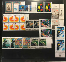 United Nation stamps from the 80's, Vienna Issuing Office