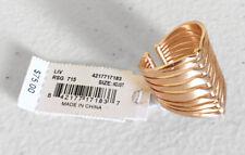 Kendra Scott Liv Statement Adjustable Rose Gold Ring
