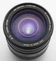 Sigma Zoom 28-200mm 1:3.5-5.6 DL Hyperzoom Macro Aspherical IF für Pentax AF