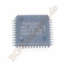 1 x DAC3550A-C2 Stereo Audio DAC DAC3550A Micronas MQFP-44 1pcs