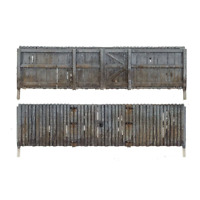 Woodland Scenics A2995 N Gauge Privacy Fence