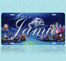 Mermaid Customized Name Personalized Aluminum Vanity Auto Car License Plate New