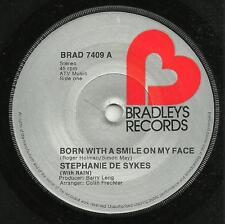 STEPHANIE DE SYKES(With RAIN)-BORN WITH A SMILE ON MY FACE 1975-ORIGINAL 70s POP