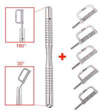 Dental Orthodontic Interproximal Enamel 45° Straight Handle + IPR Strips 15-90HD