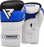 RDX Leder Kinder Boxhandschuhe Junior Jugend Training Handschuhe Kickboxen DE