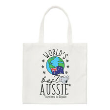 del mundo mejor Australiano Pequeño Bolso de mano - Divertido Bandera Hombro