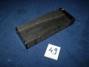 Makassar Schmuckholz für Holzschmuck  Edelholz   120 x 48 x 19 mm   Nr. 49
