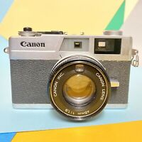 CLA'D Canon Canonet QL19 Rangefinder Camera! Full Working Order! Retro Lomo