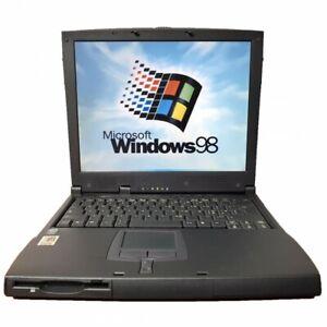 Notebook PC Computer Portatile Windows 98 Porta Seriale incorporata rs232 FLOPPY