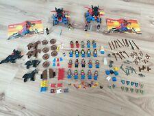 Lego 6043 2x System Ritterburg 21 Figuren Konvolut Pferde Cape
