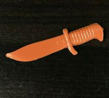 Vintage BOWIE KNIFE Jamie West ORIGINAL Marx 1970s Johnny BEST WEST Brown NICE!