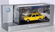 Minichamps - VW PASSAT VARIANT - 1. Generation - 1974 - gelb - 1:43 - NEU