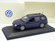 Minichamps 1/43 - VW Bora Break Bleue