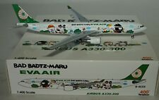 "Aviation 400 Airbus A330-302 Eva Air  ""Bad Badtz-Maru"" B-16331 in 1:400"