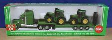 Siku 1837 1:87 HO Freightliner Low Loader w 2 John Deere Tractors Diecast MIB