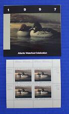 Canada (AWC03M) - 1997 Atlantic Waterfowl Celebration minisheet of 4 (MNH)