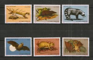 Sao Tome 673-78 ** Säugetiere
