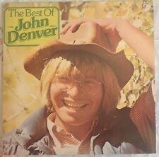 "JOHN DENVER,THE BEST OF JOHN DENVER ALBUM,VINTAGE 12"" LP 33.EXCELLENT CONDITION"