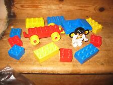 DUPLO LEGO pushalong Auto Roulotte playfigure gancio traino assortiti mattoni da costruzione