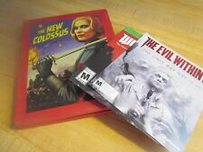XBOXONE THE NEW COLOSSUS WOLFENSTEIN II WITH RED STEEL BOX