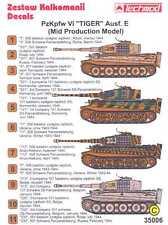 Techmod Decals 1/35 PzKpfw VI TIGER E TANK MID PRODUCTION