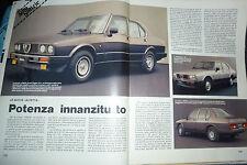 ARTICOLO ALFA ROMEO :  ALFETTA 2,4 QUADRIFOGLIO ORO -- 1983 (ee)