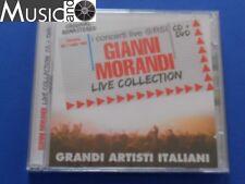 Gianni Morandi - Live collection - CD+DVD - SIGILLATO