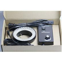 Stereo Microscope LED Ring Light Illuminator 60 Bulbs 110V-240V + Power Cable