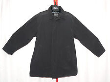 Mens Marc New York Andrew Marc Insulated Trench Coat Rain Coat Black Size XXL