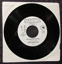 "1982 (We Need) Gun Control / Revolution 2 John's Biggest Fan 45 7"" VG+"