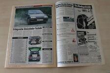 Auto Bild 24266) Daihatsu Charade GTti mit 101PS im TEST auf einer Seite