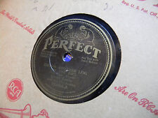Albert Taylor 78 Perfect 15864 Throw Another Log on the Fire/In the Electric