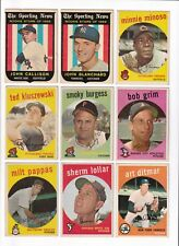 *** 1959 Topps #423 Bob Grim BV$8! No creases, Slightly soft corners ***