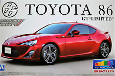 New ! AOSHIMA 1/24 Toyota 86 GT Limited  pre-painted model Red Valuable !!