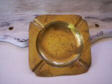 Vintage brass Change dish/Brass Ring holder dish/Brass coin tray/Brass ash tray