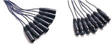 Maximum Cables SC0812 8 way XLR to XLR loom 6m