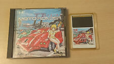 MOTO ROADER II Jeu NEC PC Engine Hucard import JAP cib