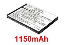 Batterie 1150mAh BH98100 BTR6425 BTR6425B Pour HTC ADR6425LVW, ThunderBolt 2