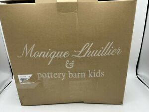 New Pottery Barn kids Monique Lhuillier Applique Tulle Sheers