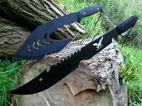 2er Machete +Beil Buschmesser Bowie Hunting Messer Machete  Macete Cauteau